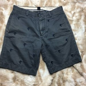 J crew Broken In Men 32w Swordfish Gray Shorts